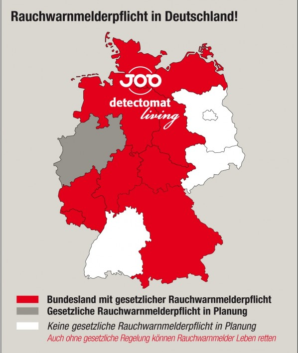 Rauchwarnmelderpflicht in Deutschland